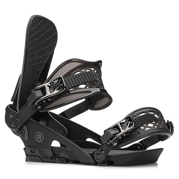 Ride El Hefe Snowboard Bindings 2018, Black, 600