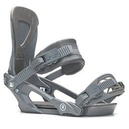 Ride KX Snowboard Bindings, Grey, 256
