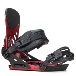 Ride EX Snowboard Bindings 2018, Crimson, 256