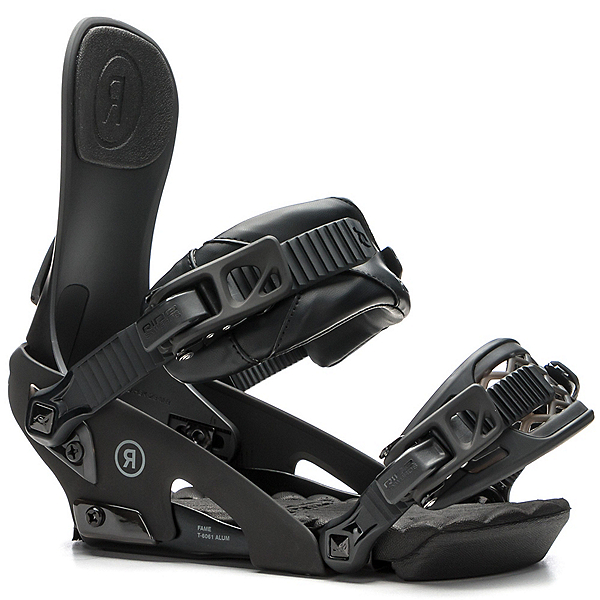 Ride Fame Womens Snowboard Bindings, Black, 600