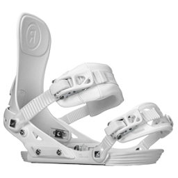 Ride DVA Womens Snowboard Bindings 2018, White, 256