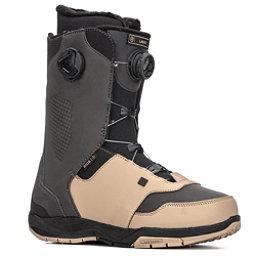Ride Lasso Boa Coiler Snowboard Boots 2018, Black-Tan, 256