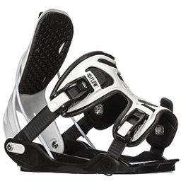 Flow Alpha Snowboard Bindings 2018, Charcoal-White, 256