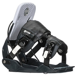 Flow Five Snowboard Bindings 2018, Slate, 256