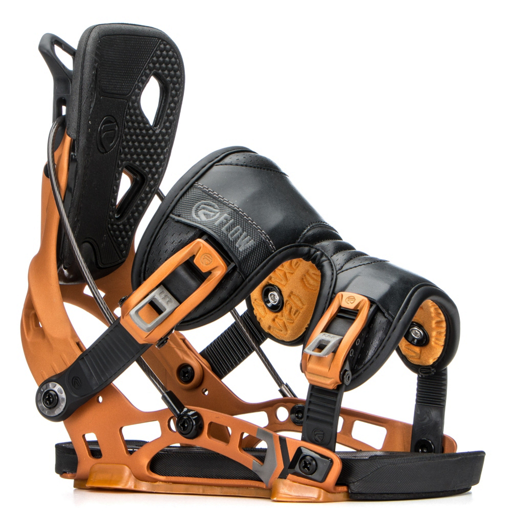 Flow NX2 Snowboard Bindings im test