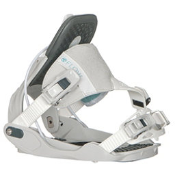 Flow Minx Hybrid Womens Snowboard Bindings, Grey, 256