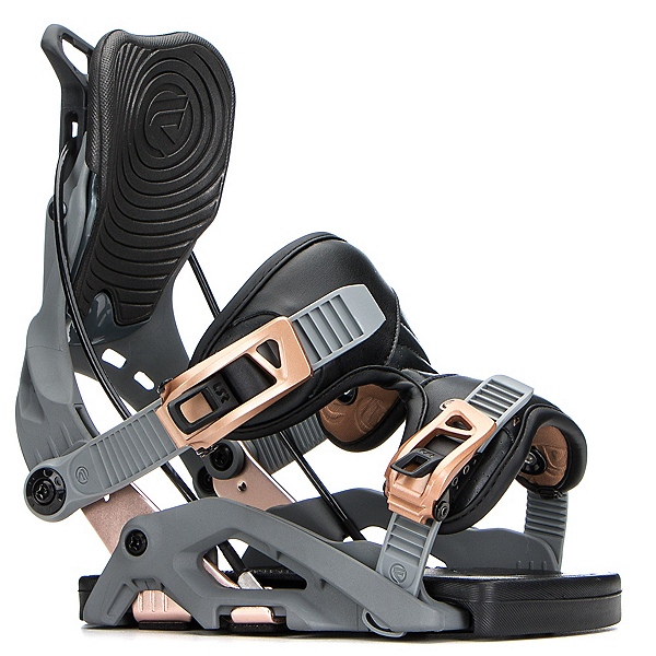 Flow Omni Womens Snowboard Bindings, Spacegrey, 600