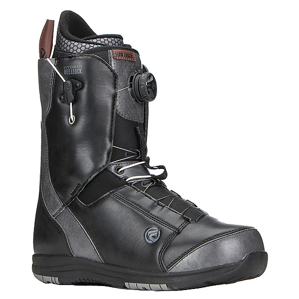 Flow Tracer Boa Coiler Snowboard Boots, Black, 600