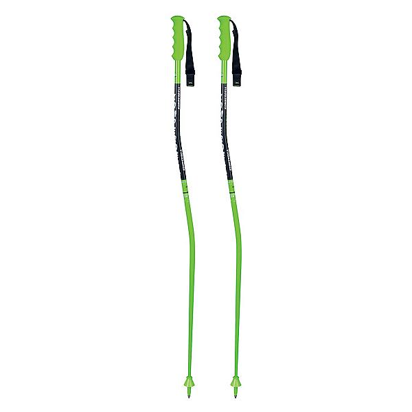 Komperdell National Team Super-G Ski Poles, Lime, 600