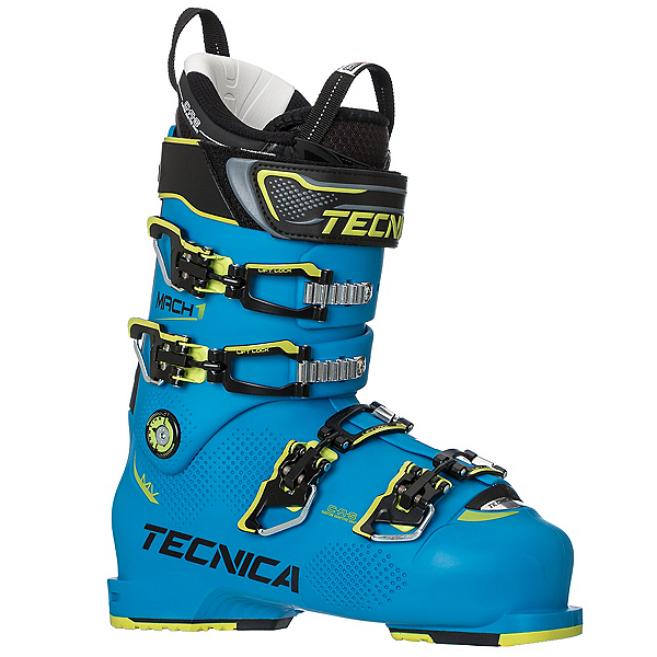 Tecnica Mach 1 120 MV Ski Boots, Process Blue, 600