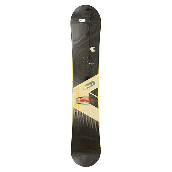 Used Mens Ride Control Snowboard Deck Only 158cm, , 600