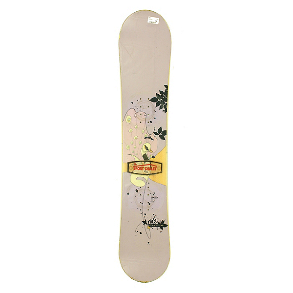 Used Womens Ride Solace Peacock Snowboard Deck Only 142cm SALE, , 600