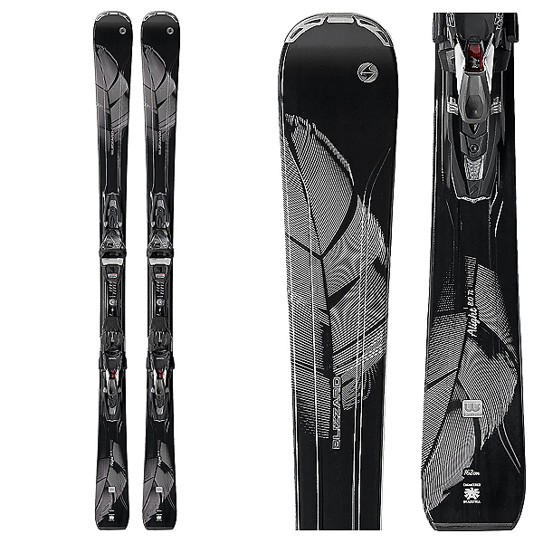 Blizzard Alight 8.0 Ti Womens Skis with TCX 12 Bindings 2018, , 600