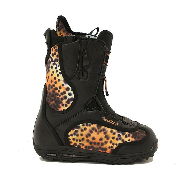 Used Burton Emerald Girls / Womens Snowboard Boots Cheetah SALE, , 600