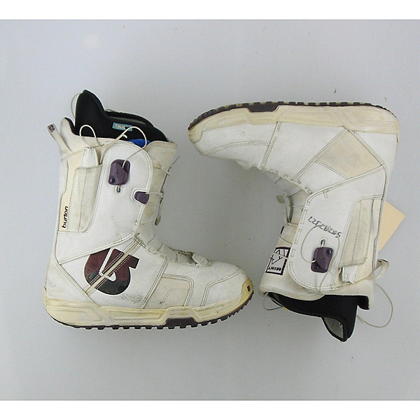 Burton Mint Womens Snowboard Boots Used SALE, White, 600