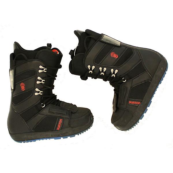 Burton Used Burton Progression Black & Gray Snowboard Boot Men's Snowboard Boots, Bkrdbu, 600