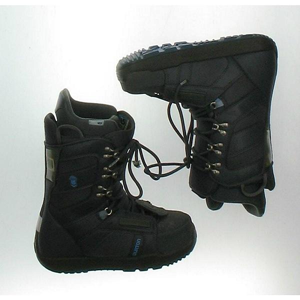 Burton Progression Womens Snowboard Boots, Black Light Blue, 600