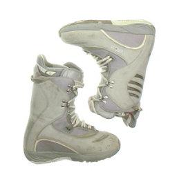 Burton Sable Womens Snowboard Boots, White, 256
