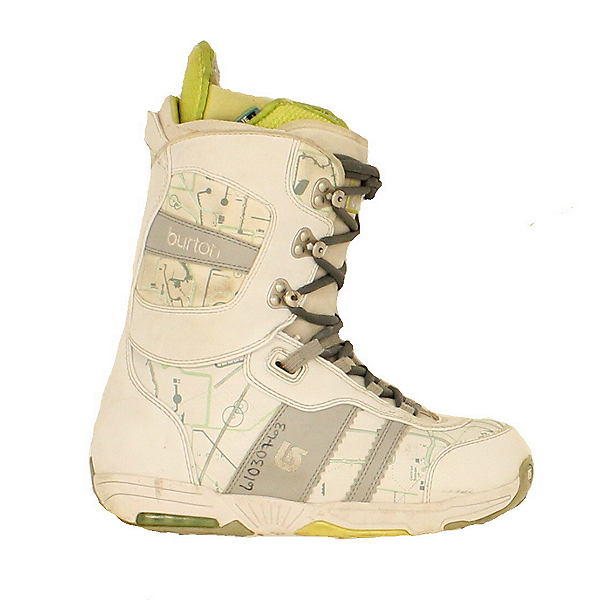 Used Burton Womens Sapphire Snowboard Boots White Map, , 600