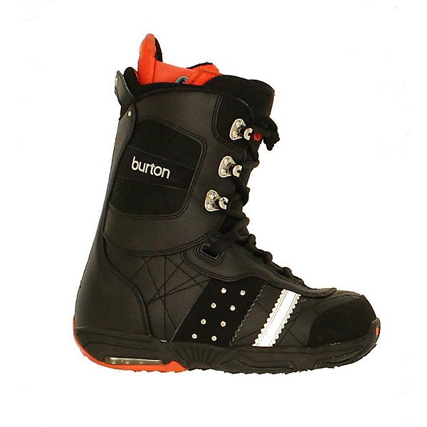 Used Burton Womens Sapphire Snowboard Boots Black Red Studs, , 600