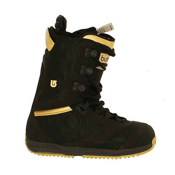 Used Burton Womens Sapphire Snowboard Boots Black Gold, , 600