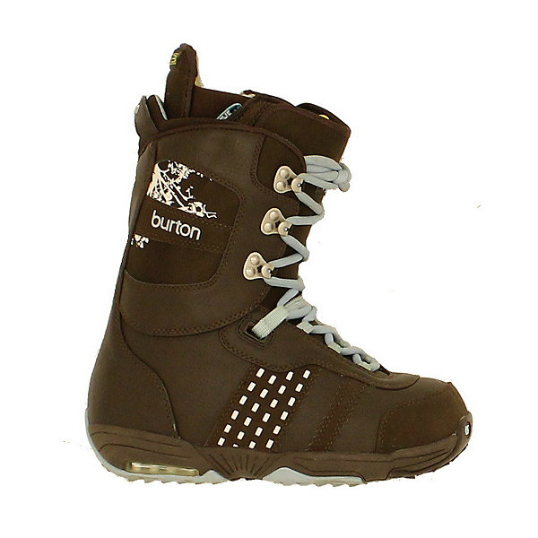 Used Burton Womens Sapphire Snowboard Boots Brown Tree Branch, , 600