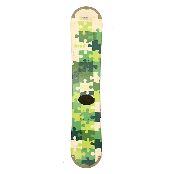 Used Head Concept Jr Puzzle Piece Snowboard Deck Only C, , 600