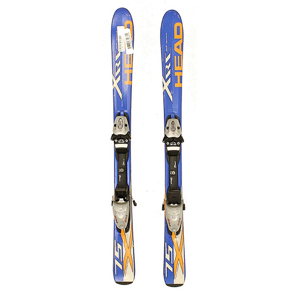 Used Head XRC 75 Kids Youth Size Skis With Tyrolia SL4.5 Bindings, , 600