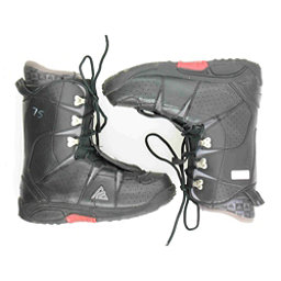 Used K2 Domain Snowboard Boots, Black-Red, 256