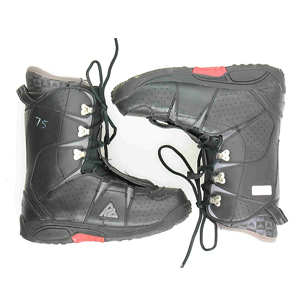 Used K2 Domain Mens Snowboard Boots SALE, Black-Red, 600