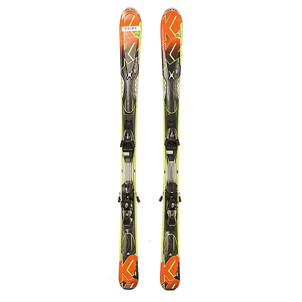 Used K2 A.M.P. Impact Skis with Salomon L10 Bindings C, , 600