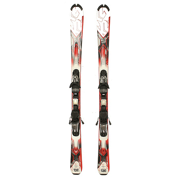 Used K2 AMP Strike Skis Salomon L10 Bindings NICE A Condition Starter Set SALE, Sal L10, 600