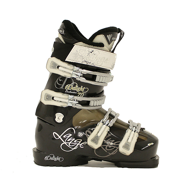 Used 2012 Womens Lange Exclusive Delight 70 Ski Boots Nice Ski Boots, , 600