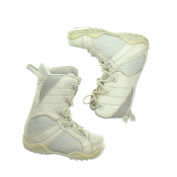 Used LTD Womens Snowboard Boots SALE, White, 600