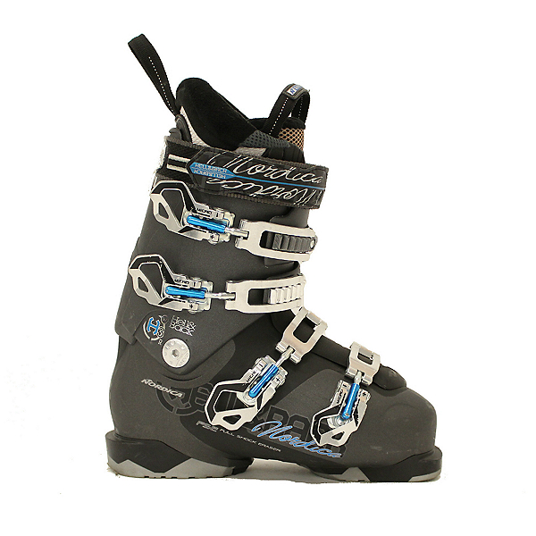 Used 2014 Womens Nordica Hell & Back H3 W Ski Boots Size Choices, Blue, 600