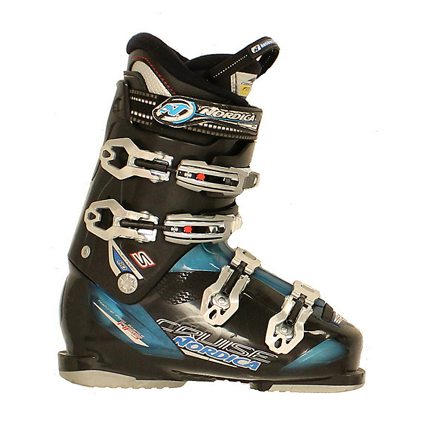 Used 2014 Nordica Cruise S 80 Ski Boots Blue Black Size Choices, , 600