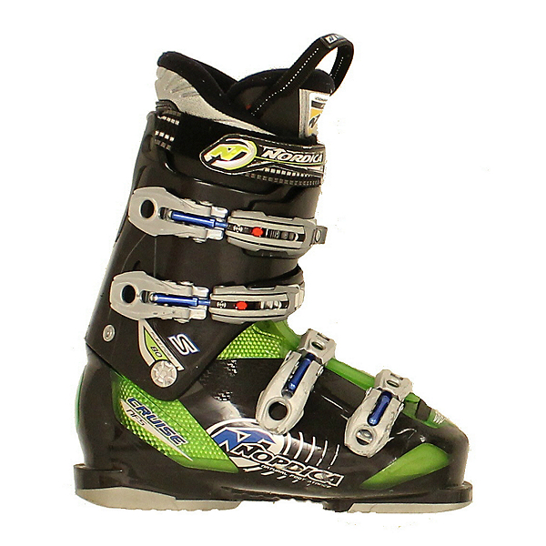 Used 2014 Nordica Cruise S 80 Ski Boots Green Black Size Choices, , 600