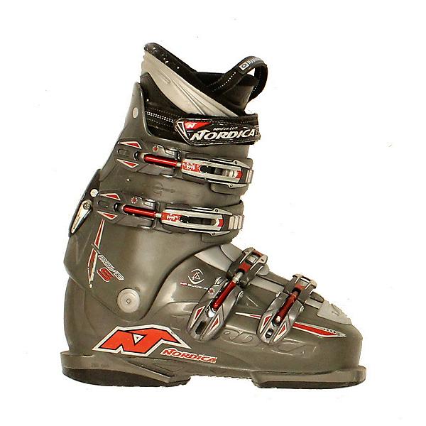 Used Nordica Easy Move S Ski Boots, Grey, 600