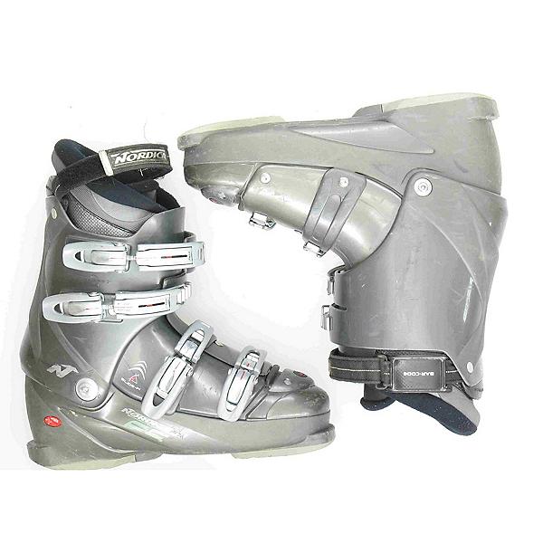 Used Nordica F5 Ski Boots, Grey, 600