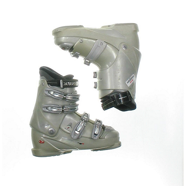 Used Nordica F5 W Womens Ski Boots SALE, Grey, 600