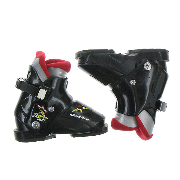 Used Nordica Super N0.1 Kids Toddler Size Ski Boots, , 600