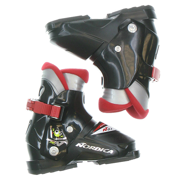 Used Nordica Super N0.1 Toddler & Youth Size Ski Boots SALE, Mascot1, 600