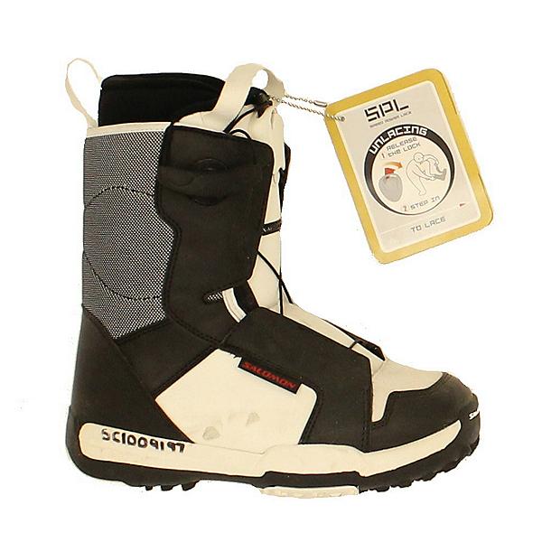 Used Salomon Talapus Kids Snowboard Boots Youth Sizes, , 600