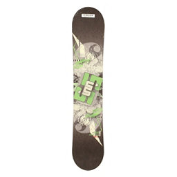 Used Sims JSL 12 Snowboard Deck Only Size Choices, Green, 256