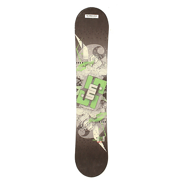 Used Sims JSL 12 Snowboard Deck Only Size Choices, Green, 600