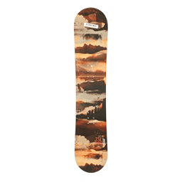 Used Sims JSL All Mountain Snowboard Deck Only Orange 120cm, , 256