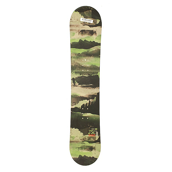 Used Sims JSL All Mountain Snowboard Deck Only Green 130cm, , 600