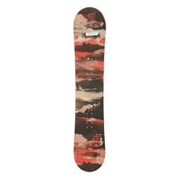 Used Sims JSL All Mountain Snowboard Deck Only Red 140cm SALE, , 256