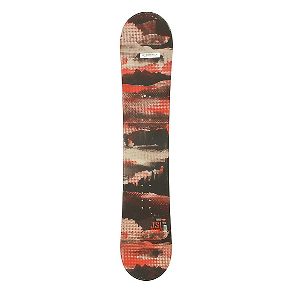 Used Sims JSL All Mountain Snowboard Deck Only Red 140cm, , 600