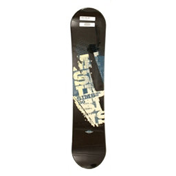 Used Sims JSL 10 Snowboard Deck Only Size & Color Choices, Bkbu, 256